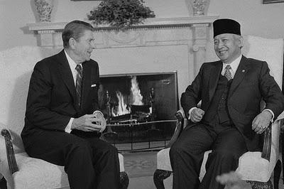 suharto-reagan