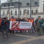 Protikapitalistická demonstrace 17. listopadu v Bratislavě skončila zásahem policie