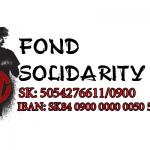 Podporte naše aktivity: IBAN: SK84 0900 0000 0050 5427 6611 : Ďakujeme krásne: Každé euro použijeme v boji za práva pracujúcich